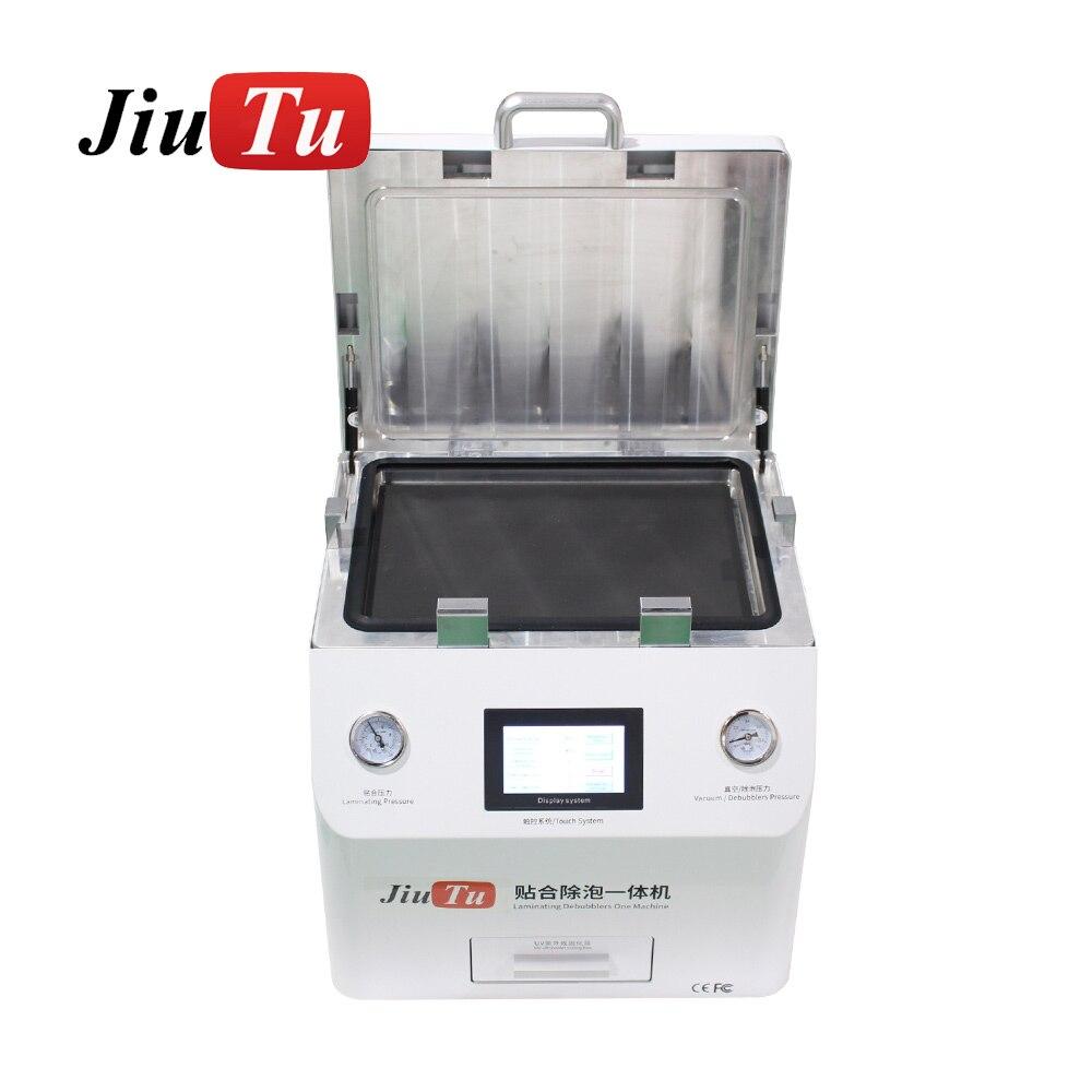 Jiutu Automatic OCA Laminator Machine With UV Box For Flat Curved Edge For iPad 15 Inch Screen Repair
