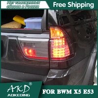 tail lamp for car bmw x5 e53 1998 2006 x5 e 53 tail lights led fog lights drl day running light tuning car accessories