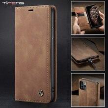 Luxury Magnetic Flip Wallet Case For iPhone 12 Mini 11 Pro XS MAX X XR 8 7 6s 6 Plus 5 5s SE 2020 Le