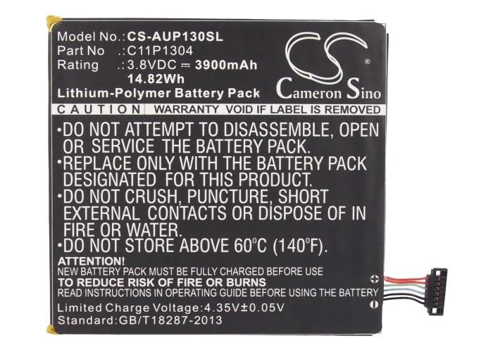 Cameron Sino 3900mAh batería para Asus ME137 MeMO Pad HD7 Zenpad Z380C... C11P1304