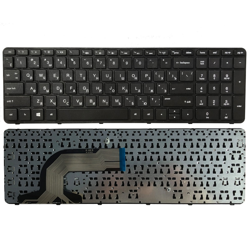 Russian Keyboard FOR HP pavilion 15-N 15-E 15E 15N 15T 15 t -N 15-N000 N100 N200 15-E000 15-E100 RU laptop keyboard with frame