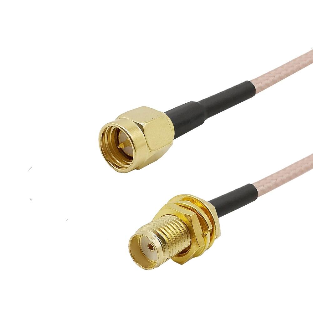 Кабель SMA male-SMA female Pigtail RG316, Радиочастотный кабель с низкой степенью потери, разъем для WIFI FPV антенны GSM, LAN 0-6 ГГц, 1 шт. allistore