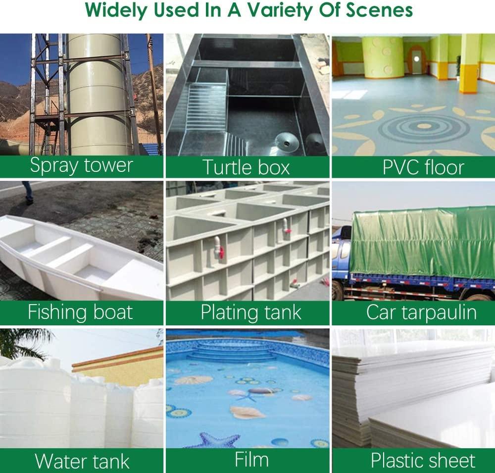 1600W Plastic Welding Gun Hot Air Torch Heat Gun Welder For PVC Vinyl Floor PP PE Water Tank Geomembrane enlarge