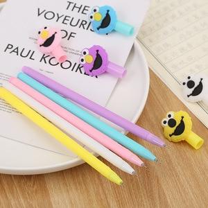 30 PCs Creative Lovely Gel Pen Cartoon Happy Bird Neutral Pen Cute Student Stationery Writing Tools Gel Pen Factory Wholesale