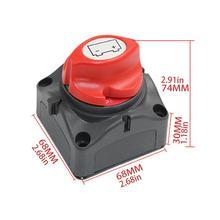 Interrupteur de Protection de puissance de voiture commutateur dalimentation de batterie de Yacht à courant élevé interrupteur de bouton dallumeur de Protection accessoire de voiture