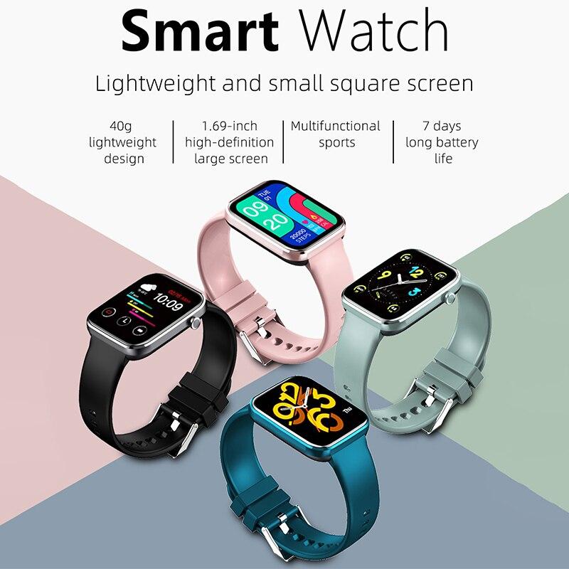 Women's Wristwatch Z15 Smart Watch Men's Watches Z15 Smartwatch 2021 Heart rate Sleep Monitor Sports Watch Smart  Bracelet Clock