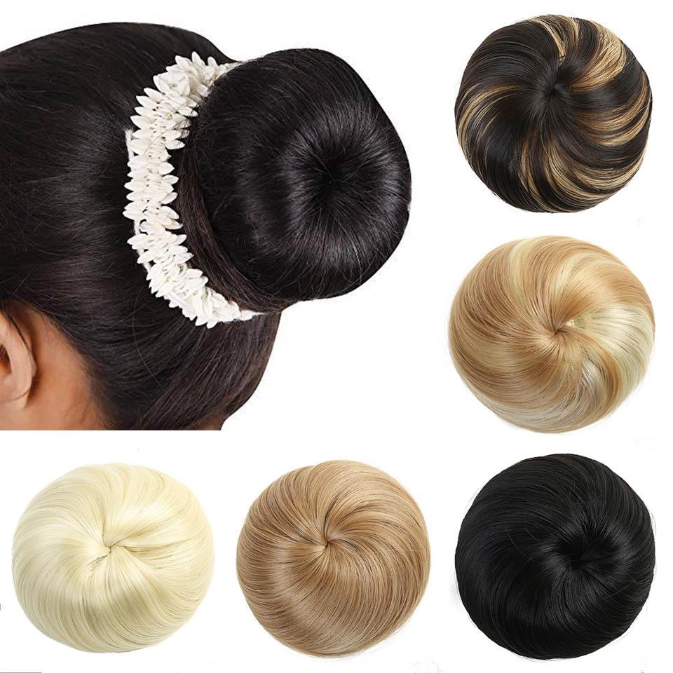Lupu эластичные волосы булочка пончик рулон шиньон парик синтетические волосы аксессуары для наращивания волос для женщин конский хвост наращивание волос