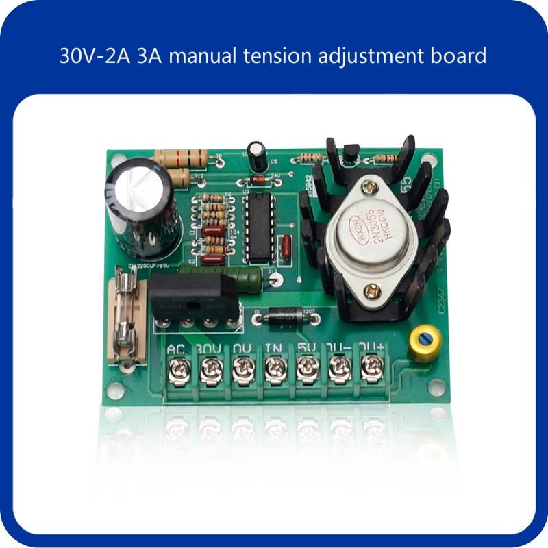 30V-2A 3A Manual Tension Adjustment Board Control Board Ryan Slitting Machine Magnetic Powder Clutch Brake Brake