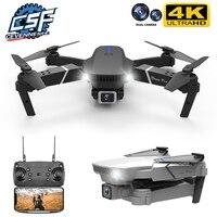 Дрон CEVENNESFE складной, 4k 2021 P HD, широкоугольный, двойная камера, Wi-Fi, FPV позиционирование, Определение высоты, Радиоуправляемый вертолет, подаро...