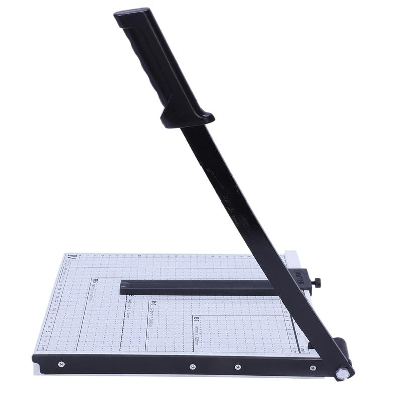 """Cortadora de papel, cortadora de METAL con BASE, cortadora de chatarra, hoja de guillotina de 12x10"""""""