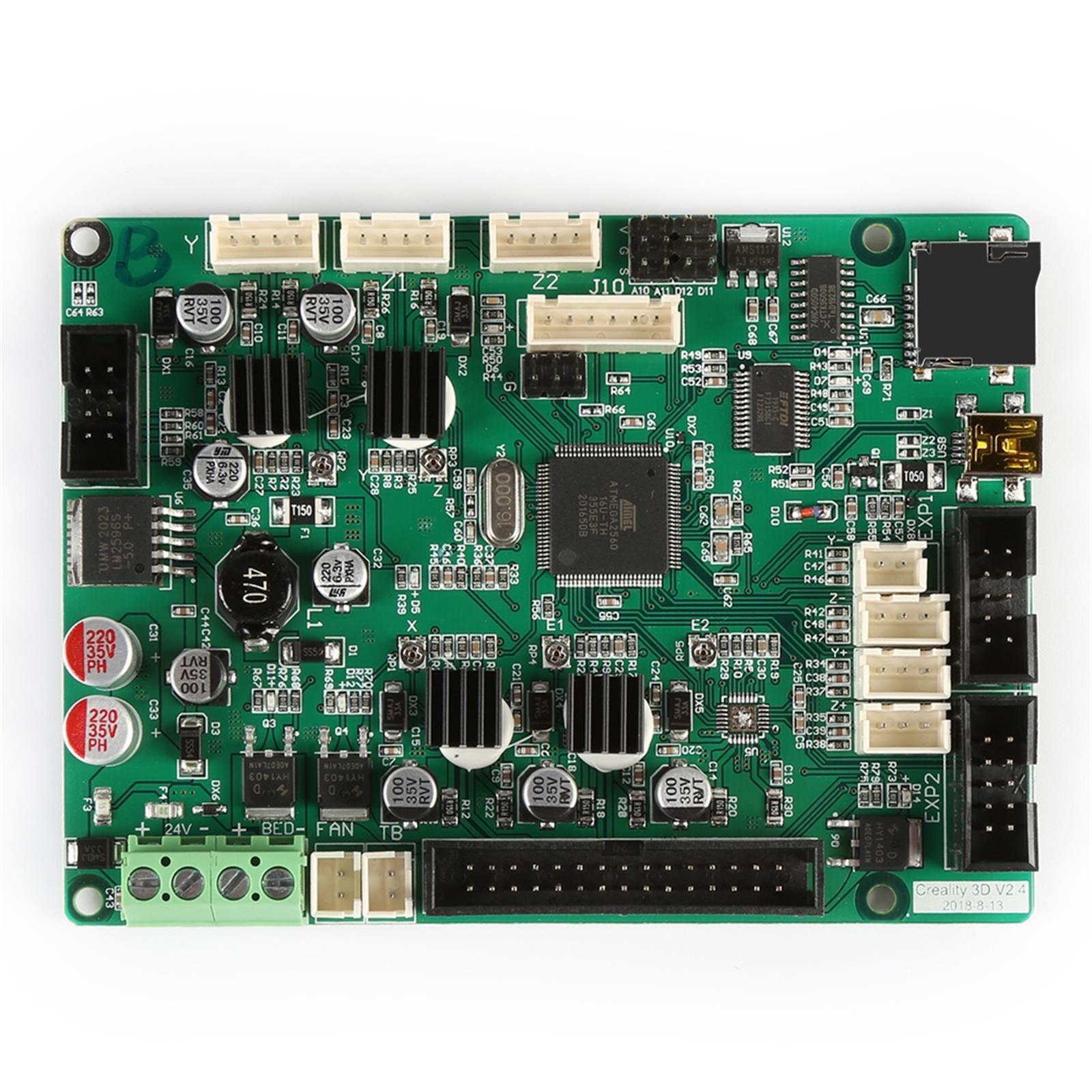 CR ترقية اللوحة الرئيسية V2.4.1 اللوحة الأم للطابعة CR-10S برو ثلاثية الأبعاد