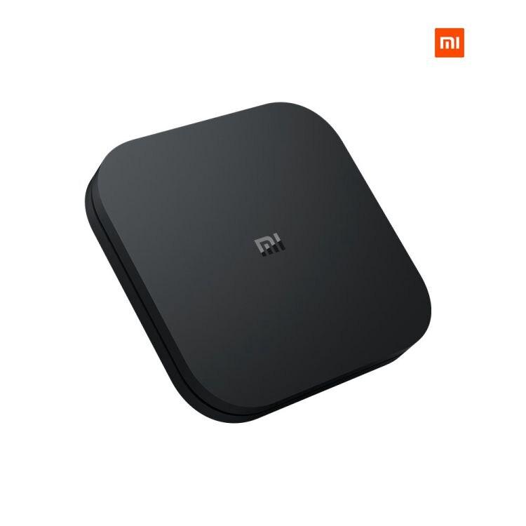 شحن مباشر من الاتحاد الأوروبي شاومي Mi Box S 4K HDR أندرويد 2GB + 8GB TV مع مساعد جوجل عن بعد تدفق مشغل الوسائط قمة مجموعة صندوق