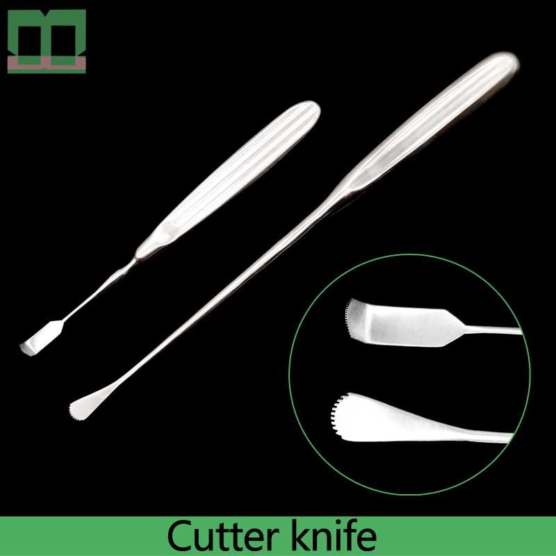 القطع من الغضروف أثناء جراحة التجميلية sharp حافة قاطع من الفولاذ المقاوم للصدأ سكين الأنف الغضروف تشريح