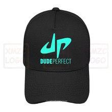 Nouveau mec parfait célèbre Logo Youtuber hommes noir casquette de Baseball S3Xl casquette de Baseball chapeaux femmes hommes
