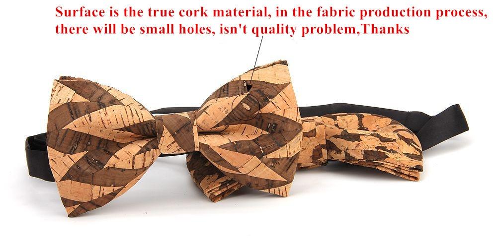 New Wooden Bow Tie Bowtie Neckties Cravate Christmas Men's Gifts Wood Color Handmade Bowtie Neck Ties Wear for Men Women Cravat