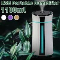 Diffuseur dhuiles essentielles et darome  humidificateur dair domestique avec lumieres  aromatherapie ultrasonique  pour le bureau et la maison  1100ML