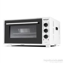 İtimat Timerli Thermostat-Pointed Oven 40 L White