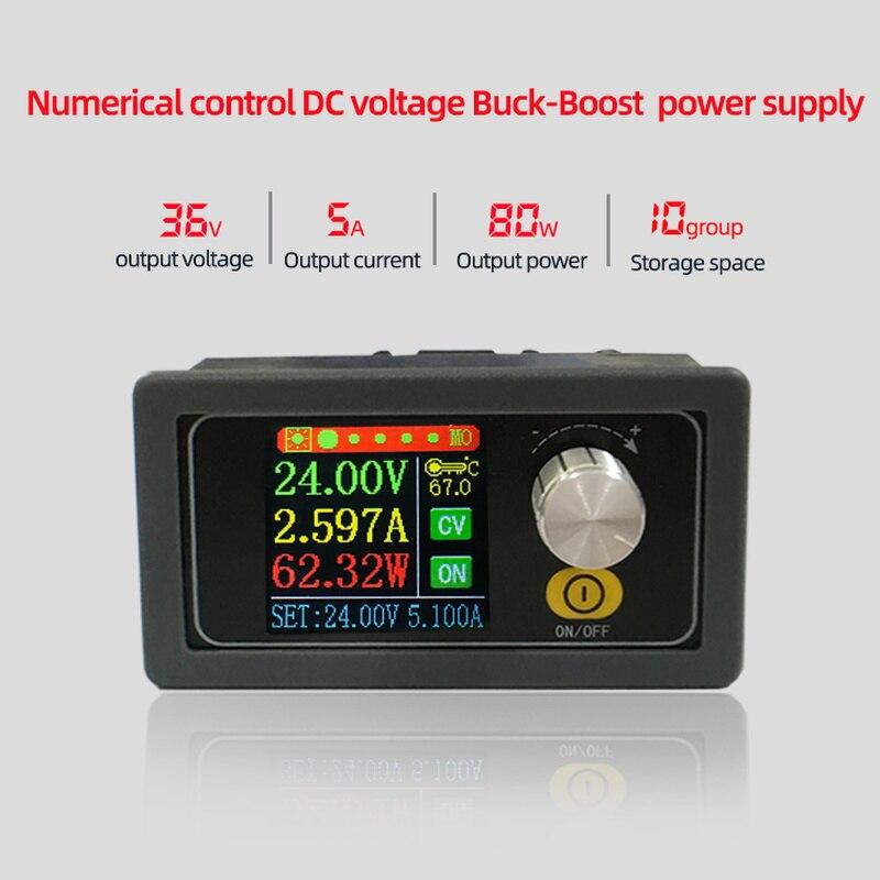 XYS3580 DC DC Buck Boost Converter CC CV 0,6-36V 5A Power Modul Einstellbare Geregelte labor netzteil variable