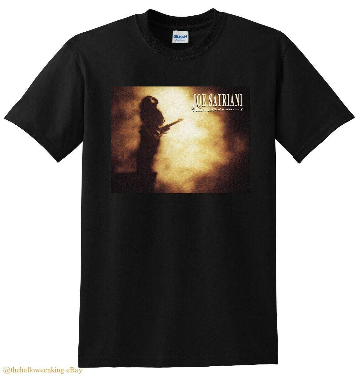 Joe satriani t camisa extremista vinil cd capa pequeno médio grande ou xl