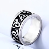 woven irregular pattern mens rings fashion retro simple mens ring party gift jewelry accessories