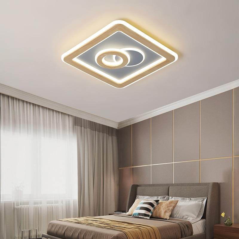 Простые светодиодные потолочные светильники для офиса, столовой, кухни, спальни, кафе, бара, студии, фойе, комнатные светильники для дома, ус...