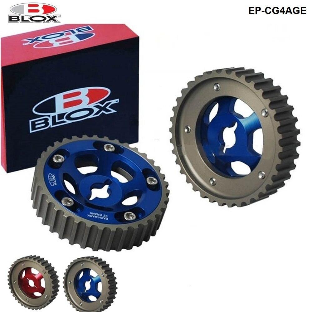 Blox 2 шт. набор роликовых роликов с регулируемым приводом для Toyota, все модели 84-89, 4 года, EP-CG4AGE на входе и выхлопе