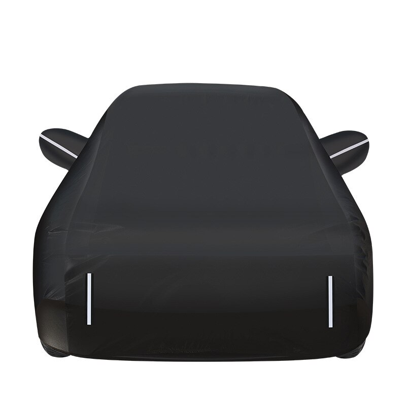 Car clothes cotton wool thickened anti-theft car cover four seasons anti wrinkle waterproof rain proof sunscreen car sunshade