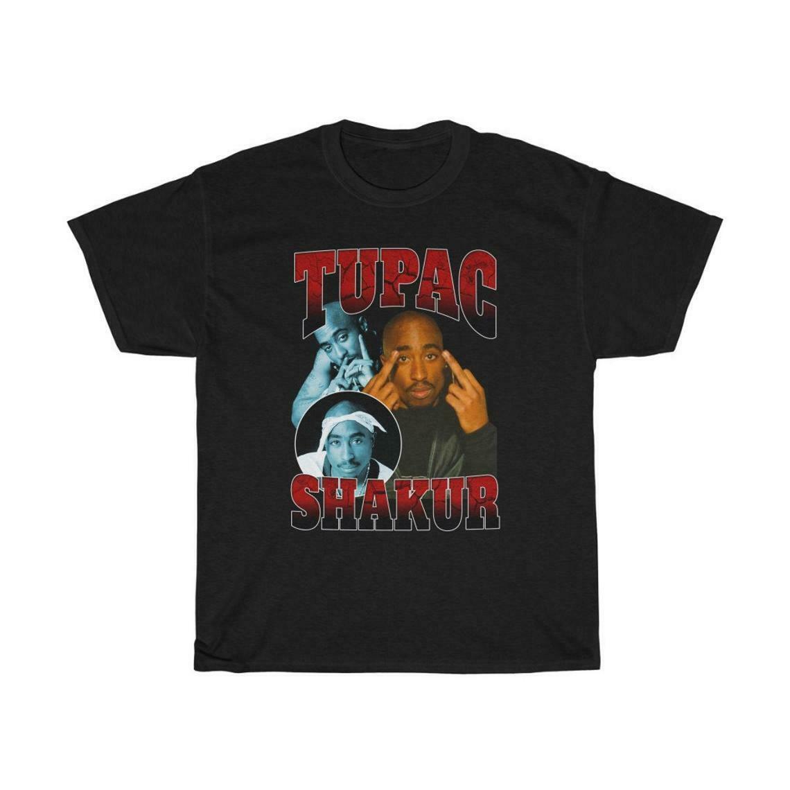 Tupac all eyez em mim concerto manga curta preto unisex s 234xl t camisa l726
