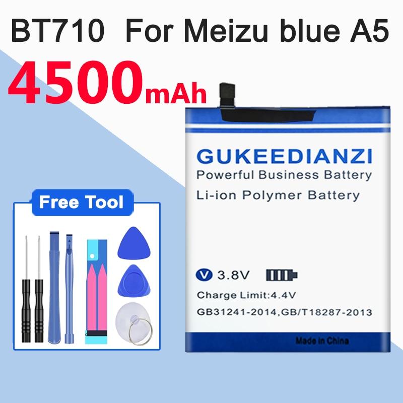 Gukeedianzi 4500 mah para meizu azul a5 bt710 bateria m5c bateria m710m m793q bateria bt710
