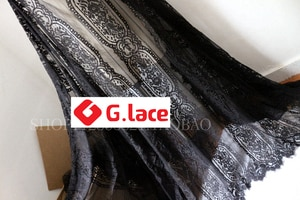 3M/Lot Wide1.5m Lace fabric dress s tablecloth curtain fabric lace accessories eyelash lace fabric DIY decoration