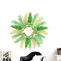 Affiches decoratives en PVC  autocollant mural pour arriere-plan de la television  decoration de la maison  en PVC  Anti-collision  a la mode