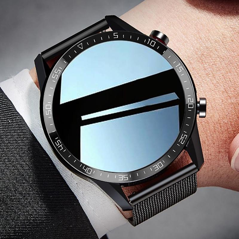 Get Dreamnice Reloj Inteligente Smart Watch Men 2021 IP68 Android Smartwatch Men ECG Smart Watch For Android Phone Iphone IOS
