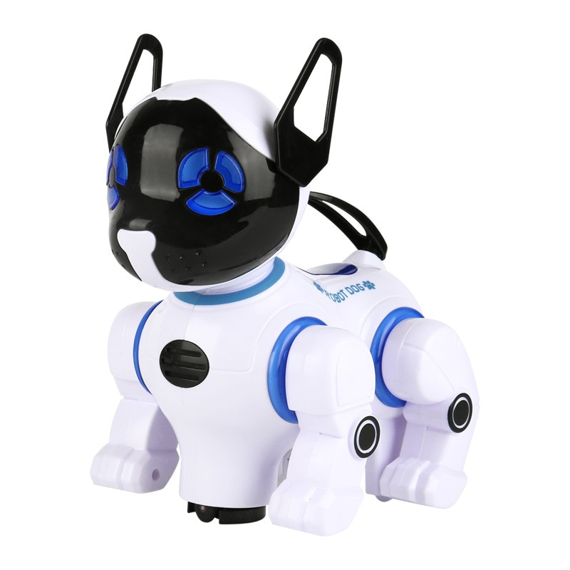 New Children's Educational Rc Robot Dog  Remote Control Universal Electronic Animal Pets Walking Music Dance Kids Dog Toy Gift