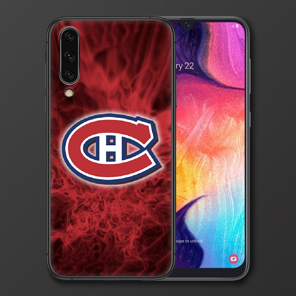 Montreal Ice Hockey Canadien Phone Case For Samsung Galaxy A 3 5 7 8 10 20 20E 21S 30 30S 40 50 51 70 71 black Bumper Fashion  - buy with discount