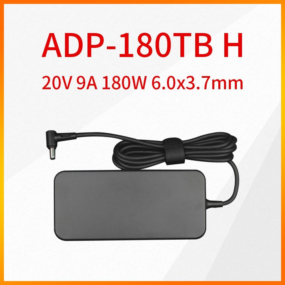 الأصلي ADP-180TB H 20 فولت 9A 180 واط 6.0x3.7 مللي متر محول الطاقة ل ASUS ROG 14 GA401 ADP 180 تيرا بايت H