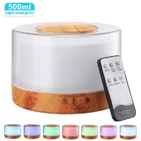 500ML Arome Huile Essentielle Aromatherapie Diffuseur Humidificateur Dair avec LED Couleur Veilleuse Ultrasonique A La Maison Fabricant De Brume Fraiche Xaomi