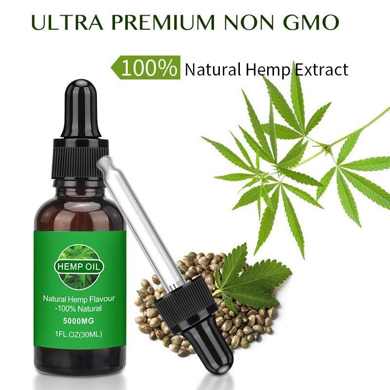 30ml Hemp Essential Oil Organic Hemp Seed Body Oil Herbal Drops Hemp Oil Relieves Stress Skin Care Massage Helps Sleep недорого