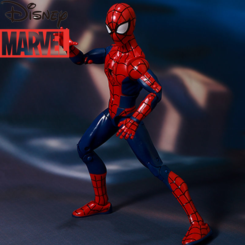 Disney Marvel Avengers Classic Spider-Man Base Model Hand-made Movie Parallel Universe Car Decoration Doll Decoration enlarge