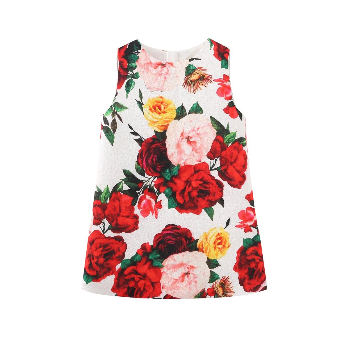2020 lente herfst europese en amerikaanse stijl borduurwerk bloem colete bebê meisjes kleding 2-8yrs