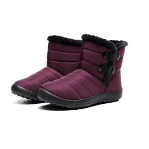 Dacomfy Fashion Women Boots Lightweight Winter Shoes Waterpoor Warm Snow Boots Female Slip On Casual Shoes Sneakers Botas Mujer