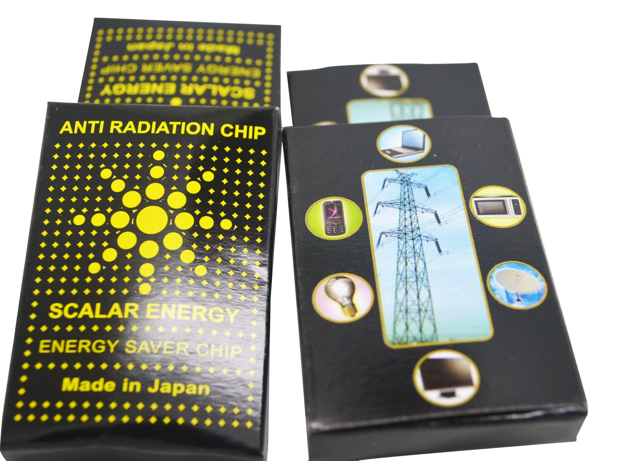 900 unids/lote 2020 nuevo escudo Anti radiación Anti electromagnética ciencia pegatina energética para celular living power corporation