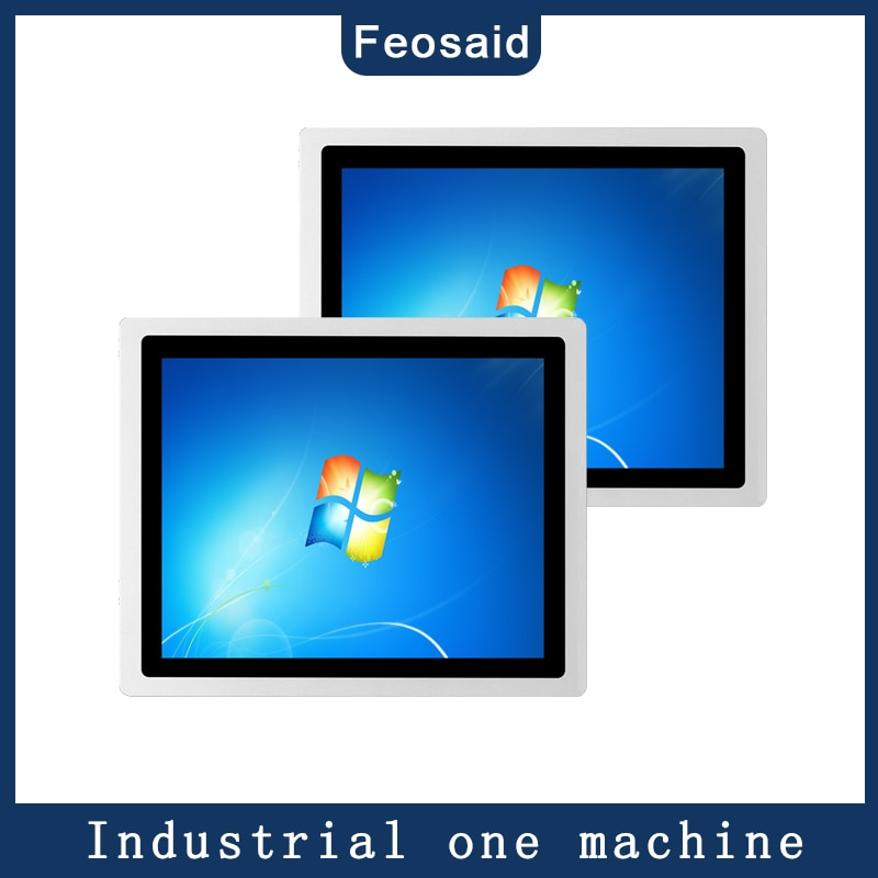 15 inch touch pc Industrial pannel computer core i3i5i74G/8G RAM capacitive touch with wifi and double com windows 10