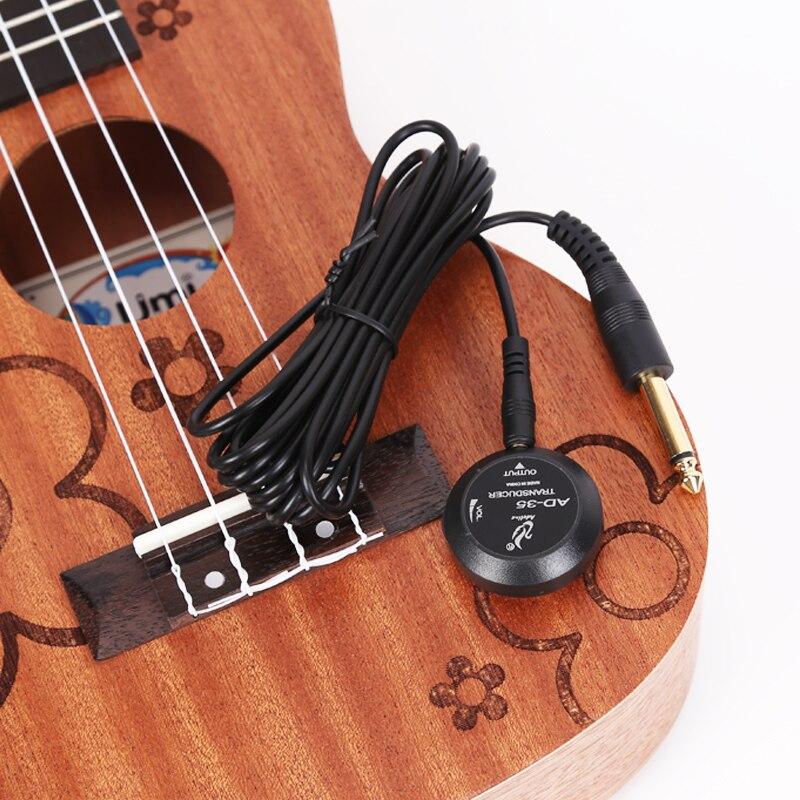 Ukulele Microphone Acoustic Ukelele Pickup No Need To Punch Stage Performance Use Vibration Pickup AD35