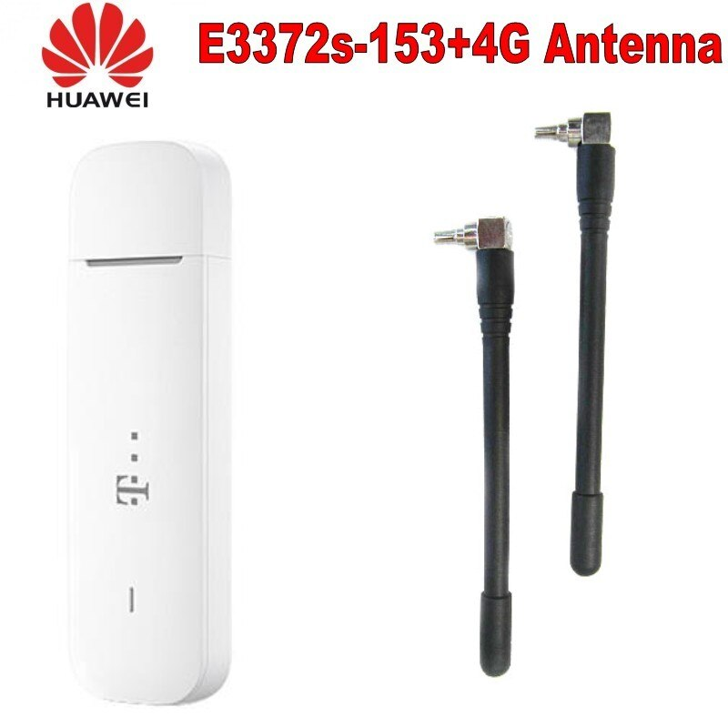 Lot von 15 stücke Original Huawei E3372 E3372S-153 USB Modem 3G 4G 150Mbps LTE USB Dongle Wireless modem