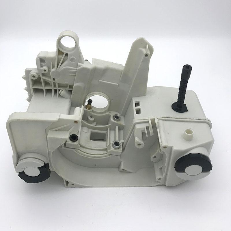 علبة المرافق لخزان وقود الزيت ، مبيت المحرك مناسب لـ Stihl 023 025 Ms 230 Ms 250 MS230 MS250 ، أدوات المنشار ، قطع الغيار