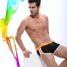 2020 Sexy hommes maillot de bain maillots de bain hommes bikini homme taille basse maillot de bain pour hommes maillot de bain hommes marque DESMIIT M XXL