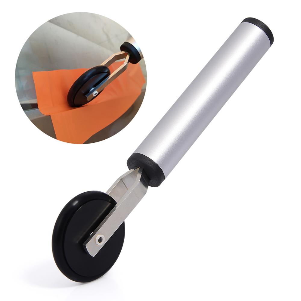 EHDIS samochodów folia winylowa rolki do drzwi linii talii Gap zainstalować miękka rolka gumowa ściągaczka pojazdu arkusz naklejki owijania narzędzie