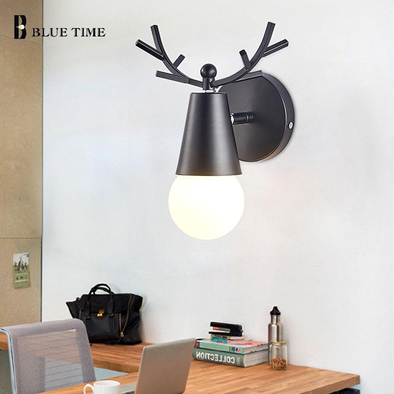 Nowoczesna ściana światło 110V 220V artystyczna dekoracja kinkiet kinkiet dla Livign pokój sypialnia jadalnia kuchnia lampka nocna kinkiety