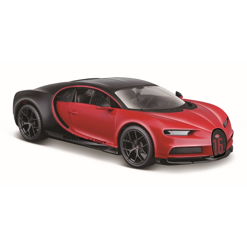 Maisto 1:24 Bugatti CHIRON Sport edition Highly-detailed die-cast precision model car Model collection gift