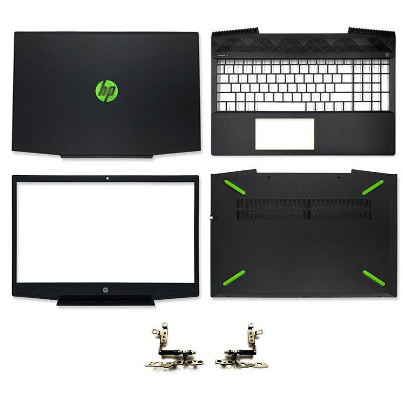 جديد محمول LCD الغطاء الخلفي/LCD الجبهة الحافة/LCD مفصلات/Palmrest العلوي/أسفل الحال بالنسبة ل HP بافيليون 15-CX سلسلة L20314-001